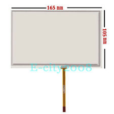 7.1inch 4Pin Resistive Touch screen Panel Digitizer Film for Volvo GPS 165*105mm