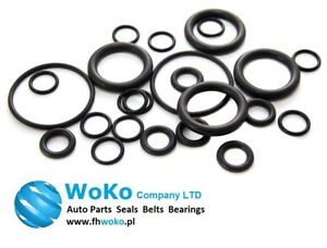 10 x Mechanical Rubber o-ring O Ring Oil Seal Gaskets Black OD31 x 2mm