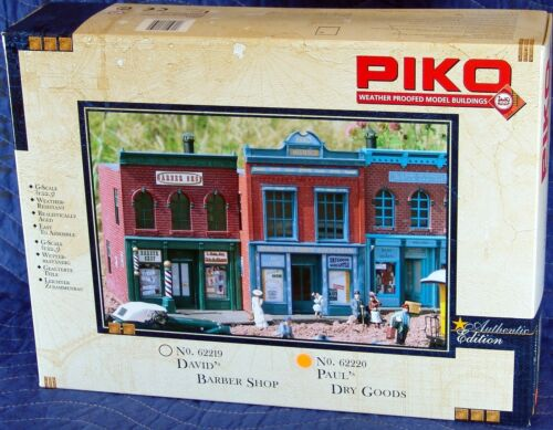 PIKO PAUL/'S DRY GOODS G Scale Building Kit  62220 New in Box