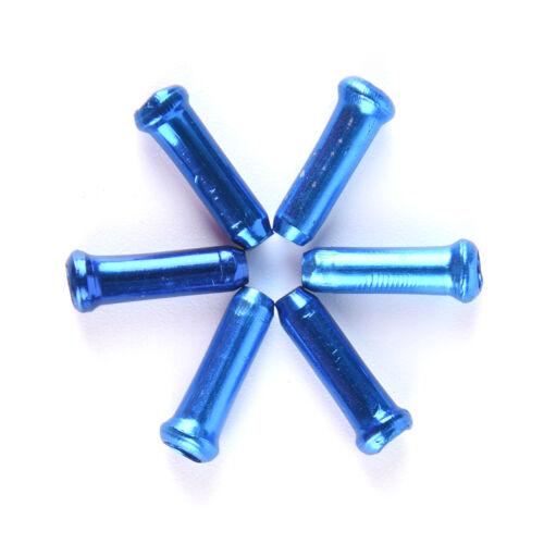 30Pcs Bicycle  Brake Wire End Core Cap Cable Aluminum Cover Gear Bike Parts 3C