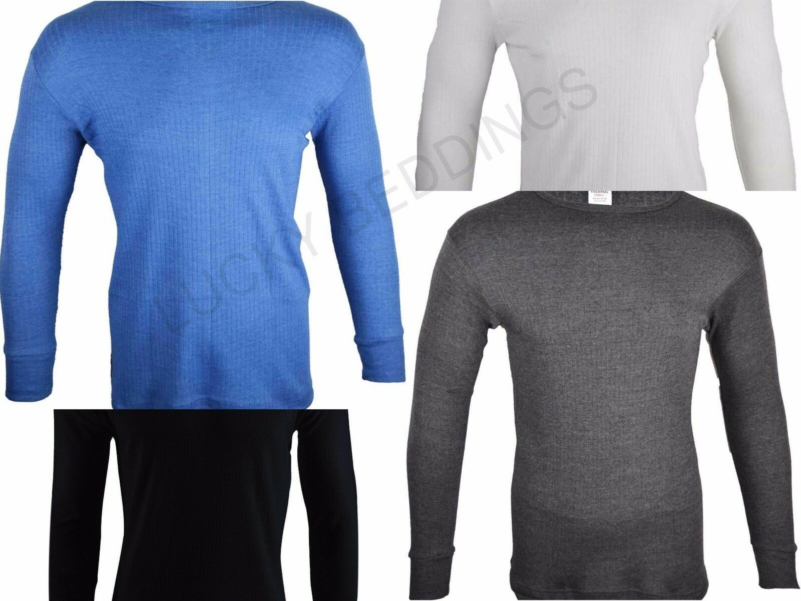 MENS HEAT CONTROL SUPER THERMAL LONG SLEEVED  T-SHIRT 0.45 TOG RATING EXTRA HOT