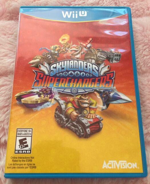 * Nintendo Wii U Skylanders Superchargers Preowned Disc