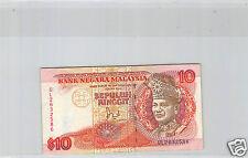 MALAISIE 10 RINGGIT ND (1989) N° UL2632586 PICK 29