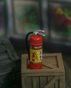 Fire-Extinguisher-Diorama-PROP-ONLY-Mezco-Marvel-Legends-NECA-1-12