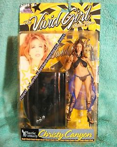 Personnages adultes Figure Christy Canyon Noir Variante En Plastique Fantastique Vivid Girl