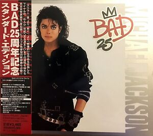 Michael-Jackson-2xCD-Bad-25-Japan-M-M-Scelle-Sealed