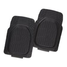 COLLINGWOOD MAGPIES CAR FLOOR MATS SET OF 4 OFFICIAL AFL UNIVERSAL HEAVY-DUTY!