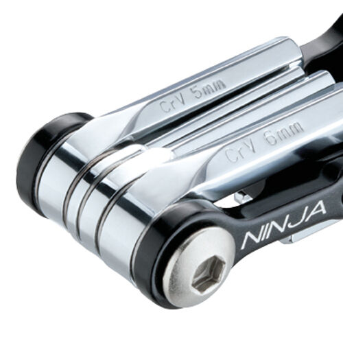 Topeak Ninja T RoadMinitool pour porte-bouteilleNoir Argent