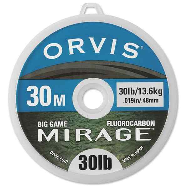 2 Pack Orvis Mirage Pretied Big Game Bimini Tippets 4ft 20lb