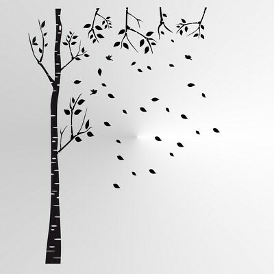 Tree with Leaves Small Sizes A5 A4 A3 Reusable Stencil Shabby Chic Style T63
