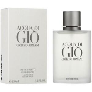 Acqua Di Gio Cologne by Giorgio Armani, 3.4 oz EDT Spray for Men NEW IN BOX