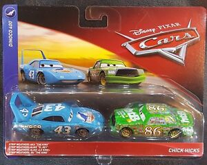 CARS-KING-amp-CHICK-HICKS-Mattel-Disney-Pixar