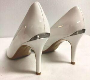 Calvin Klein Gayle Patent Platinum