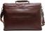 miniatura 4 - Cartella Ventiquattrore Briefcase THE BRIDGE borsa porta Pc 24ore PELLE traco...