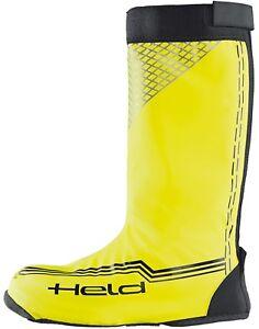 Held-BARCA-Skin-LUNGO-NEON-NERO-GIALLO-motocicletta-protezione-pioggia
