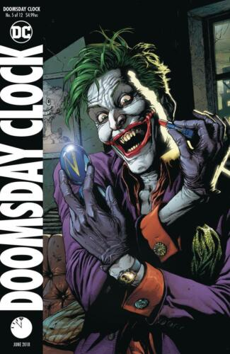 DOOMSDAY CLOCK #5B JIM LEE GARY FRANK JOKER VF+//NM+