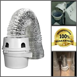 Home Indoor Dryer Vent Lint Trap Kit