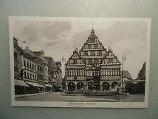 Ansichskarte Paderborn Rathaus