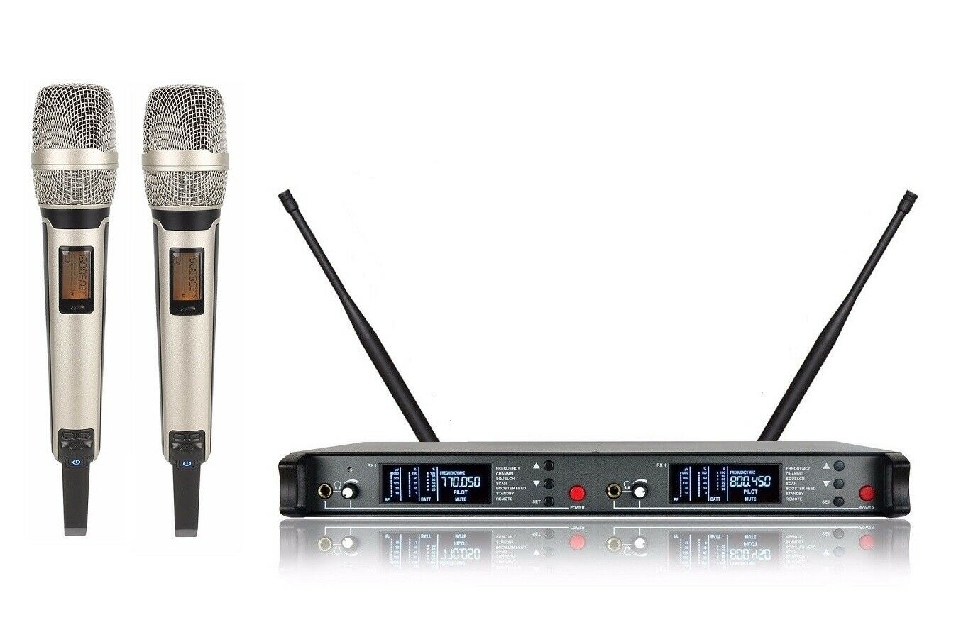 UHF Professional Wireless Microphone for Sennheiser Microphones for Stage Studio