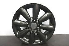 "1 x Genuine Original Mini Countryman 18"" Matt Black alloy wheel R60 R61 9804374"