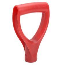 U type Black Plastic Snow Shovel Replacement D Grip Spade Top Handle Garden JP