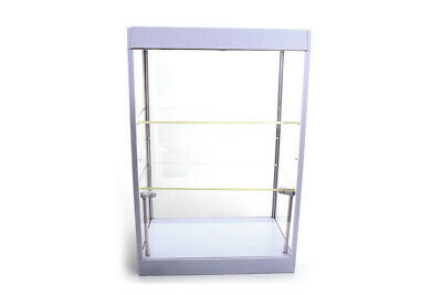 1:18 Display Case w// LED Lights /& 2 Adjustable Shelves