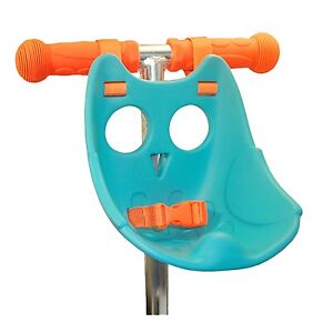 Scootaseatz-Owl-Seat-Aqua-Kids-T-Bar-Scooters-Bikes-Funky-Toy-Carrier-Accessory