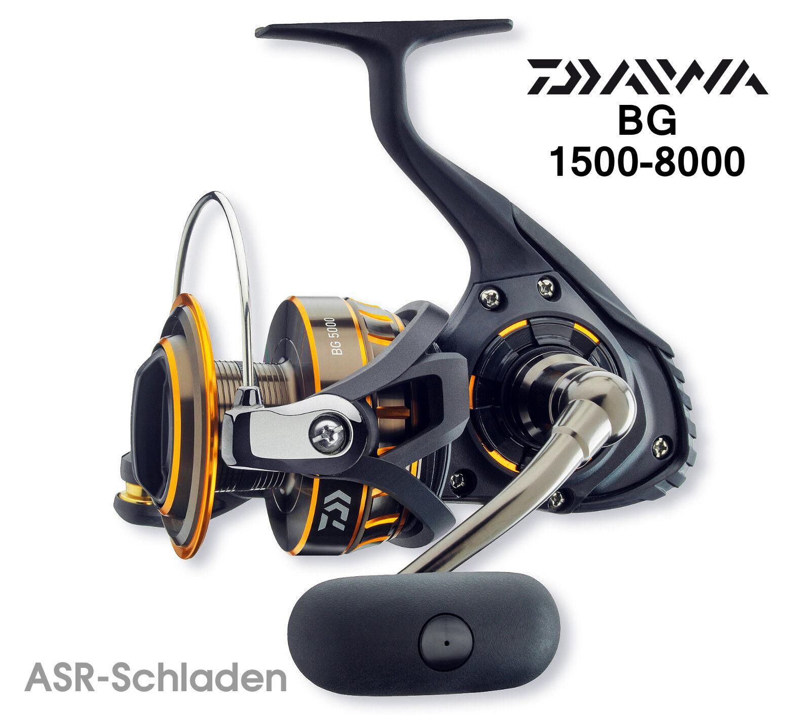 Daiwa BG -  Stationärrolle - 1500/2000/2500/3000/3500/4000/4500/5000/6500/8000 1500/2000/2500/3000/3500/4000/4500/5000/6500/8000 - 2ab865