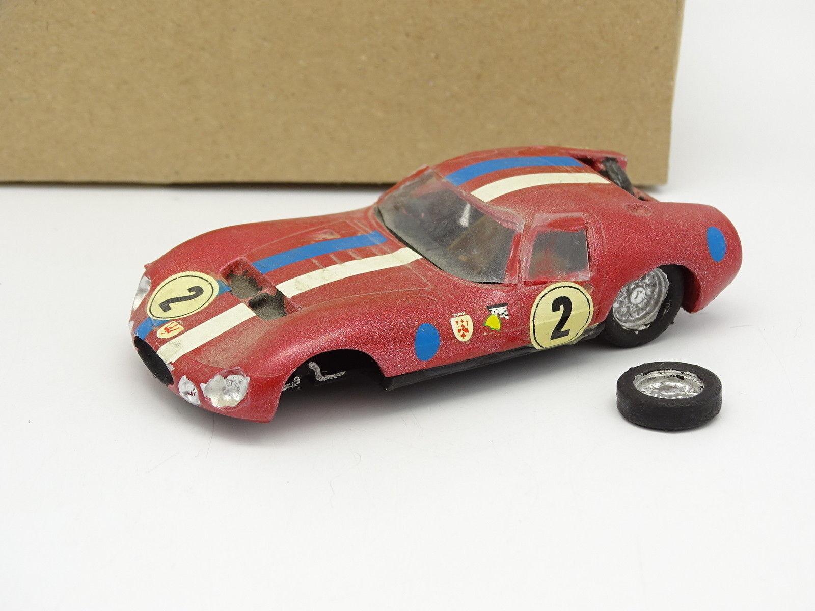 Manou Kit Monté Métal SB SB SB 1 43 - Maserati Tipo 52 Le Mans 1964 N°2 70ba6a