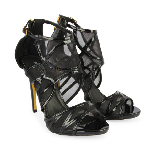 New Women/'s Gladiator Caged High Hi Heels Open Toe Cut Out Stilettos Ankle Shoes
