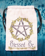 PENTACOLO TAROCCHI borsa, ideale per la maggior parte delle fate, ANGEL & Wicca Tarocchi