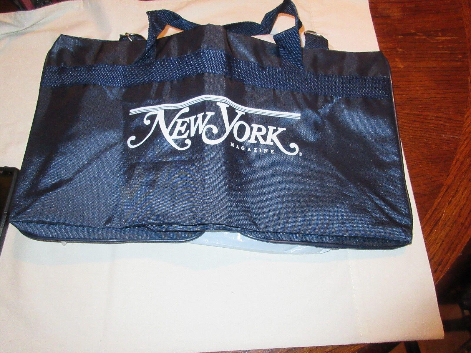 "Duffel bag, Promotional, Says ""New York Magazine"" On Ba"