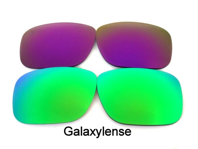 0166ee68aa Galaxy Replacement Lenses For Oakley Holbrook Green Purple Polarized! 2  Pairs