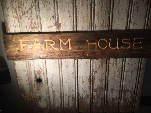 Barn Siding Farm House  Craftsman Style Sign