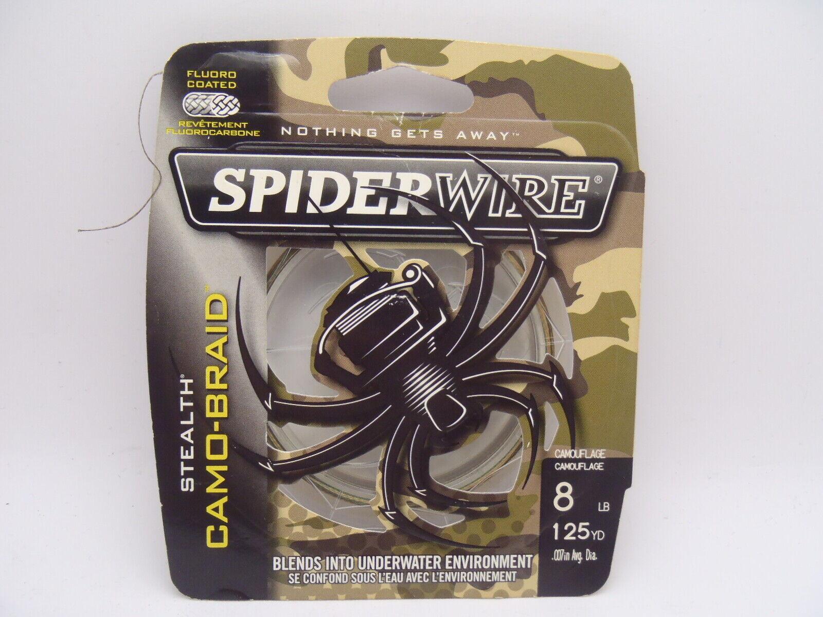 Spiderwire Stealth Camo-Braid 50lb 125yd 1 SPOOL