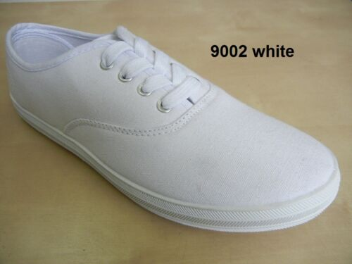 Girl Lady Women Canvas Sneaker Casual Outdoor Travel Walking White Shoes 9002