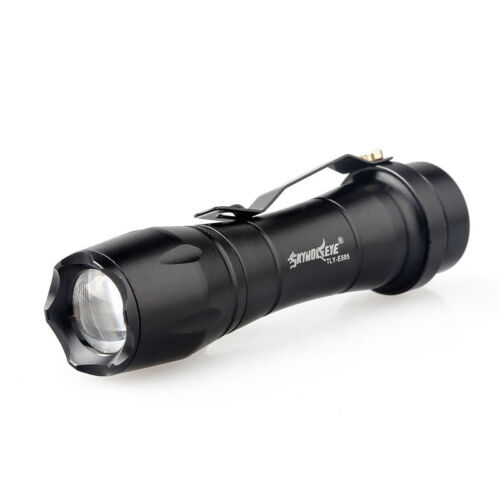 SkyWolfeye 8000 LM  Q5 LED Flashlight Zoomble Mini Torch Light Lamp 14500 DI