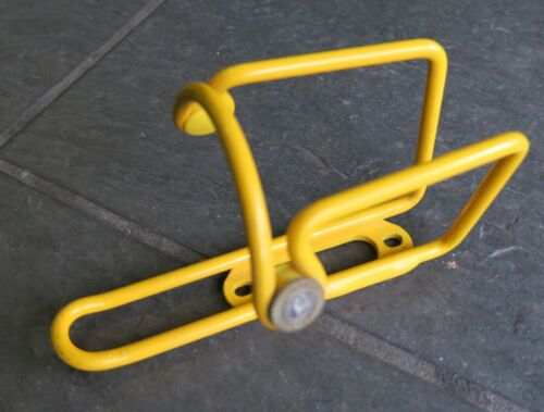 yellow NOS Elite Ciussi road bike Water Bottle Cage Marco Pantani finish