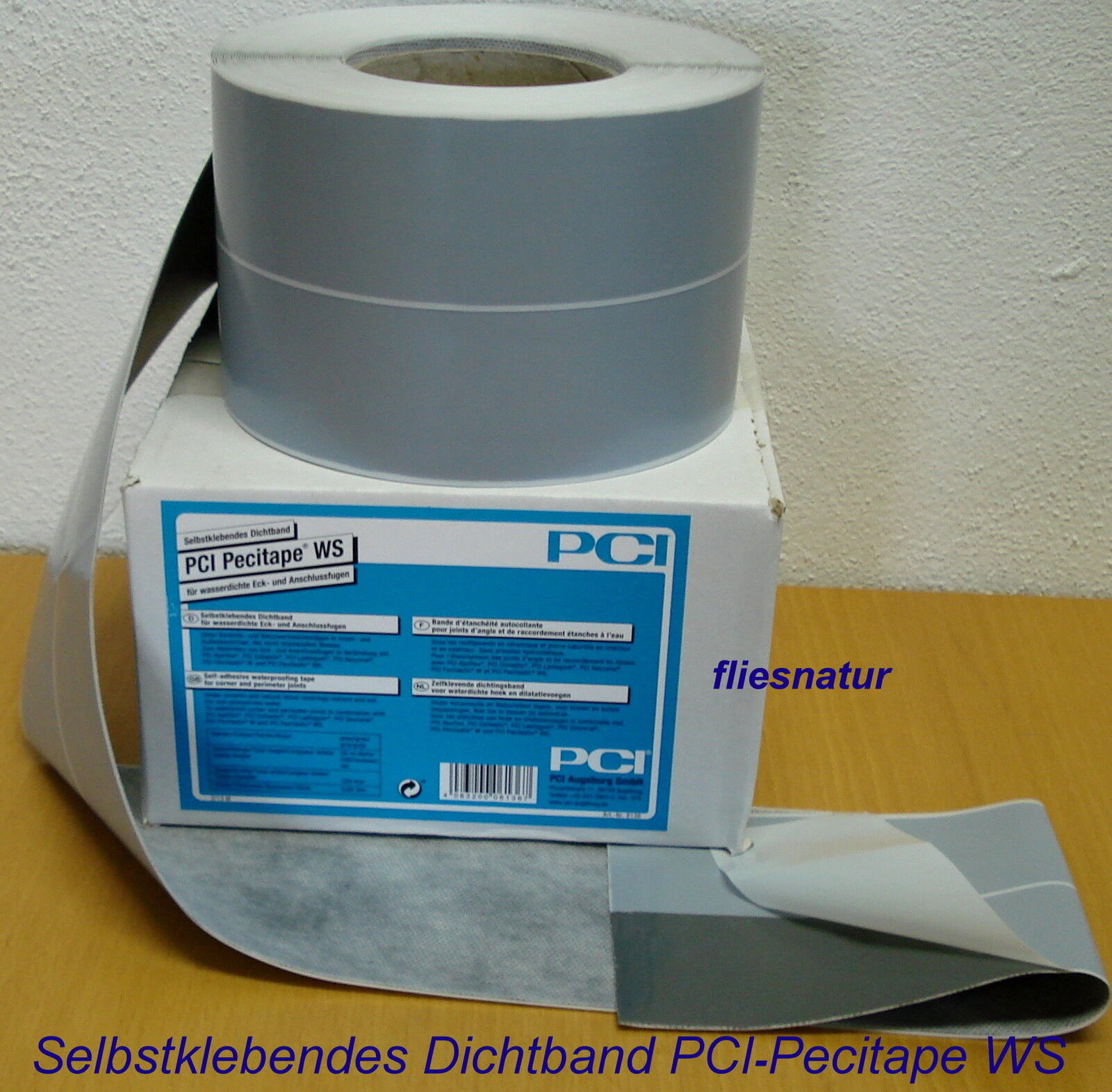 PCI Pecitape WS selbstklebendes Dichtband Rolle=20m Bithumenband Abdichtband