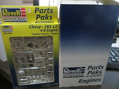 Chevy 283 c.i V-8   Revell #85-7251 Engine