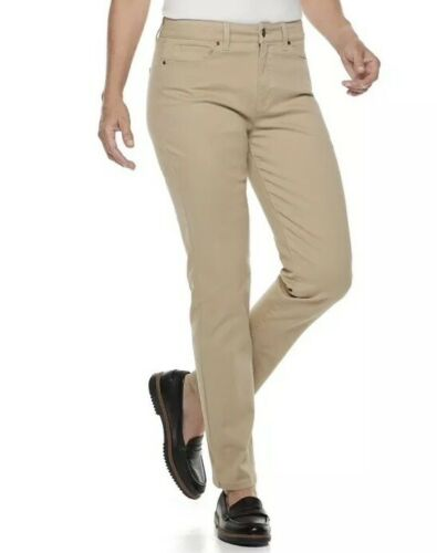 6 or 10  NWT Women/'s CROFT /& BARROW Classic Stretch Strt Leg Jean Sizes 4 Short