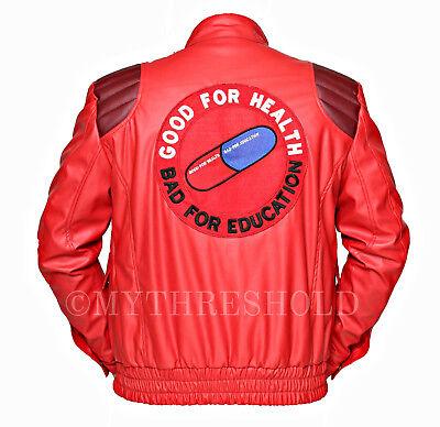 Akira Kaneda Leather Jacket With Capsule Amp Text Manga By Katsuhiro All Sizes Ebay