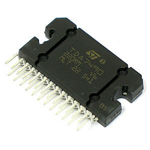 1pc st tda 7490 integrated circuit ic audio amplifier class d zip 25 rh ebay com