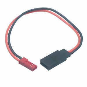 2pcs Jst Male To Jr Futaba Servo Female Connector Adapter