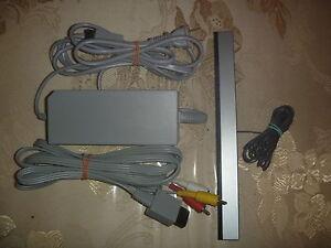 Official-OEM-Nintendo-Wii-Power-Supply-Ac-Adapter-Wired-Sensor-Bar-AV-Cables