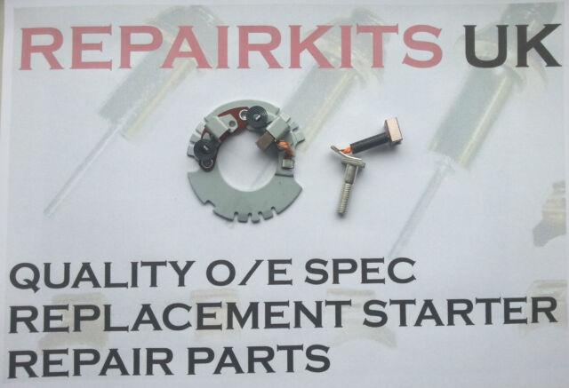 2 Cepillo Denso Soporte Escobilla Y (No2) Para Arranque Motor - Microlight -