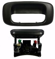 Chevy Silverado GMC Sierra Lift Gate Outside Tailgate Door Handle & Bezel Cover