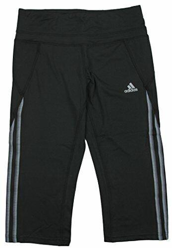 Black Adidas Youth Girl/'s Clima Core Athletic Capri Pants