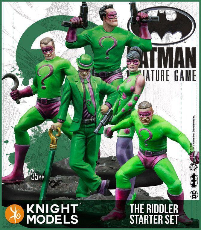 Der riddler crew kit de d é marrage 35mm batman - universum jeu 35dc175
