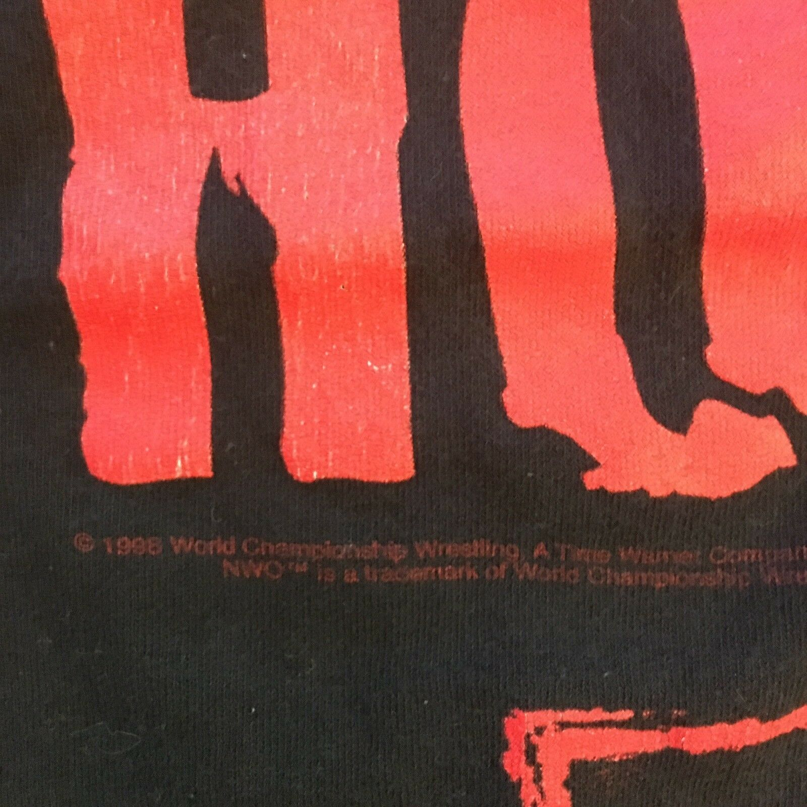 Vintage WWF T Shirt NWO Wrestling The Pac Is In T… - image 3